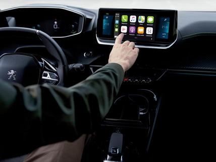 Nouveau SUV PEUGEOT 2008 : écran tactile capacitif 10 pouces HD