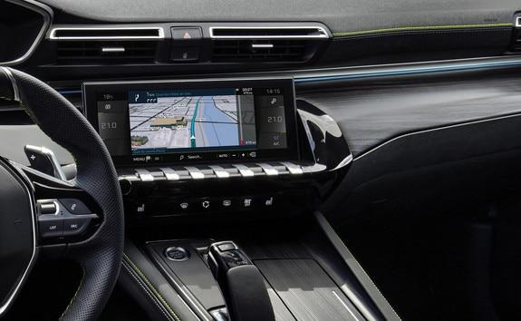 Nouvelles 508 & 508 SW PEUGEOT SPORT ENGINEERED : Peugeot i-Cockpit® avec nouvel écran tactile capacitif de 10 pouces