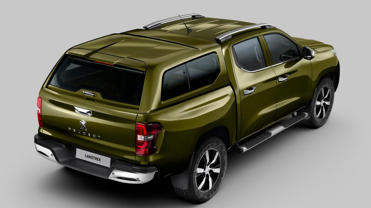 Nouveau pick-up PEUGEOT LANDTREK : hard top vitré