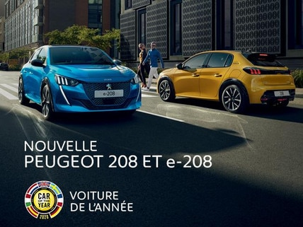 NOUVELLE PEUGEOT 208 - Car Of The Year 2020